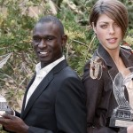 Кенийский бегун Дэвид Рудиша и хорватская прыгунья в высоту Бланка Власич - лучшие атлеты 2010 года