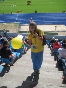 Красуцкая Анна участница чемпионата мира в тройном прыжке