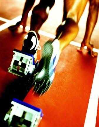 Техника спринтерского бега