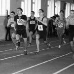 22 лютого Чемпіонату області з легкої атлетики у приміщенні