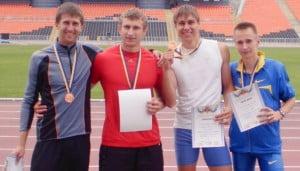 Сборная области - призеры чемпионата Украины