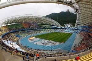 Стадион Чемпионата мира по легкой атлетикке в Тэгу