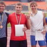 Сборная области - призеры чемпионата Украины в эстафете 4х400м