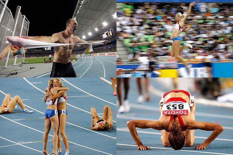Спортсмены на чемпионате мира 2011