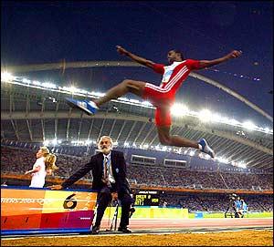 Иван Педросо - прыгун в длину, чемпион мира по легкой атлетике