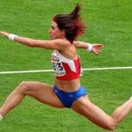 Татьяна Лебедева - Олимпийская чемпионка, прыжки тройным