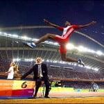 Иван Педросо -прыгун в длину, чемпион мира по легкой атлетике