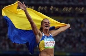 фото легкая атлетика, подготовка спортсменов, Добринская, олимпийская чемпионка фото