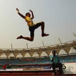 Прыжки в длину, тройной прыжок, легкая атлетика