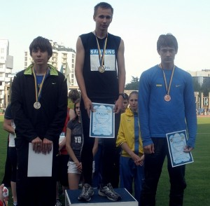 Чемпионат Украины по легкой атлетике в манеже