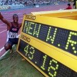 бег на 400метров фото, майкл джонсон фото, легкоатлет