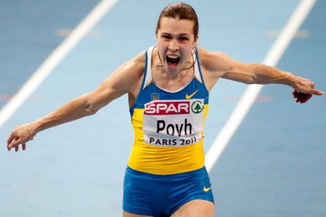 Алеся Повх - чемпионка европы на 60м, призер чемпионата мира, фото, легкая атлетика