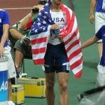 Легкоатлет, бегун на 400м, Jeremy Wariner