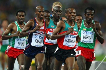 Легкая атлетика. Чемпионат мира 2011 в беге на 5000м