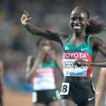 Вивиан Черуйот - чемпионка мира на 5000м - 10000м
