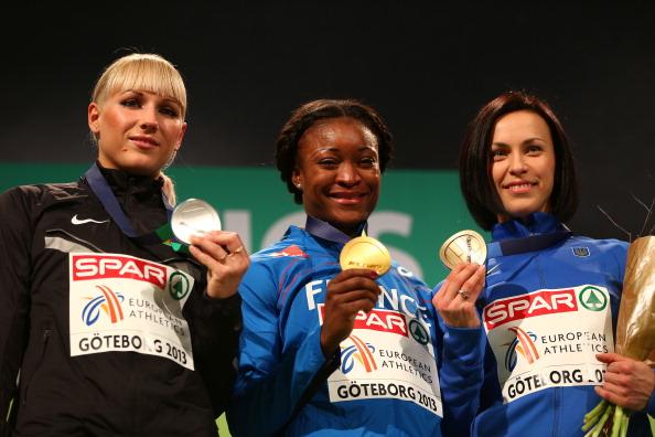 Ганна Мельниченко - бронзовый призер в многоборье на Чемпионате Европы по легкой атлетике