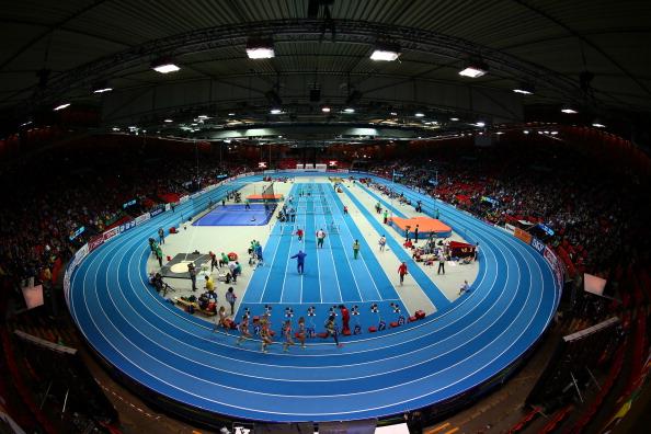 Легкоатлетический манеж в Гетеборге. Чемпионат Европы