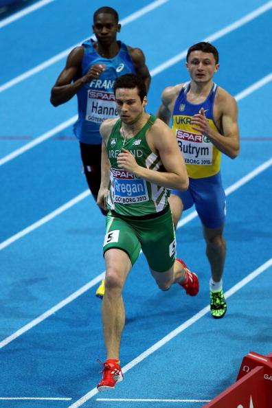 Виталйи Бутрим в беге на 400 метров. Чемпионат Европы 2013 по легкой атлетике