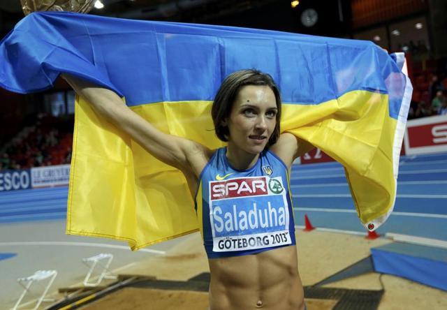 Ольга Саладуха - рекордсменка Украины, Чемпионка Европы и Мира в тройном прыжке