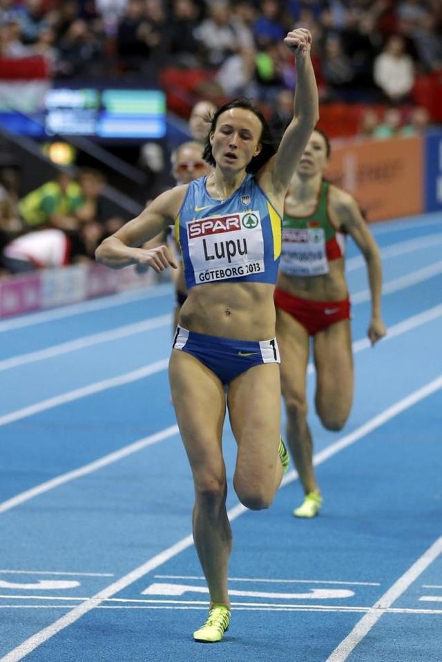 Наталия Лупу- Чемпионка Европы на 800 метров