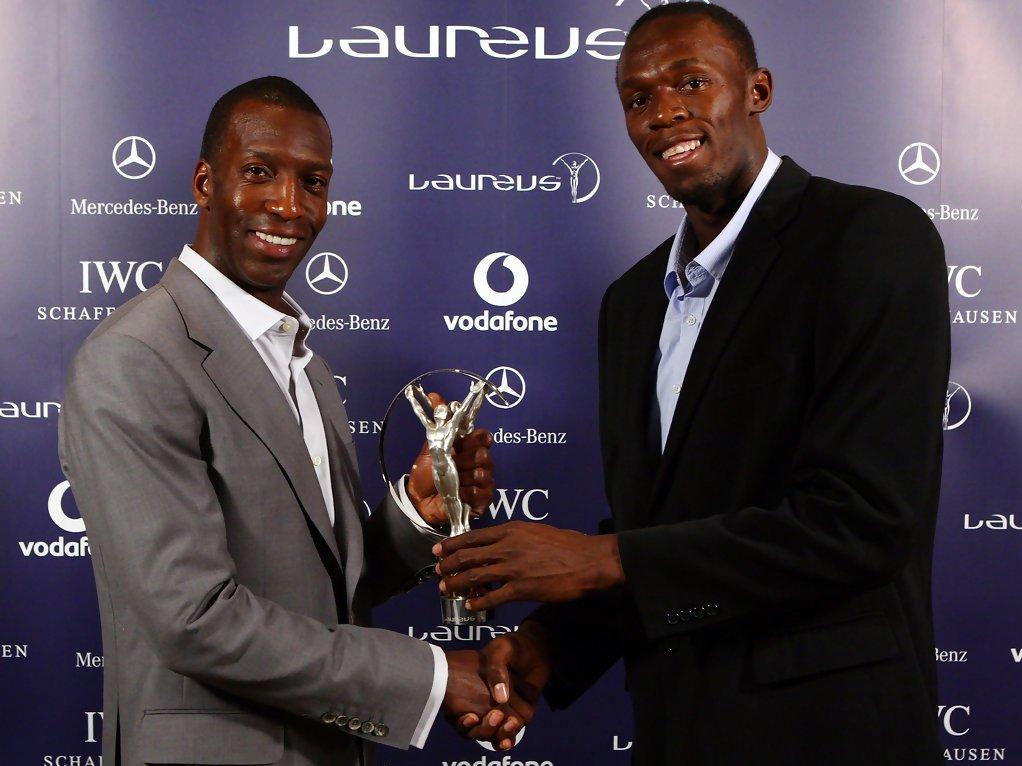 Майкл Джонсон и Усэйн Болт - Олимпийские чемпионы. Бег на 200 метров