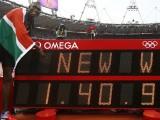 Мировой рекорд на 800 метров Дэвид Рудиша (1.40,91)