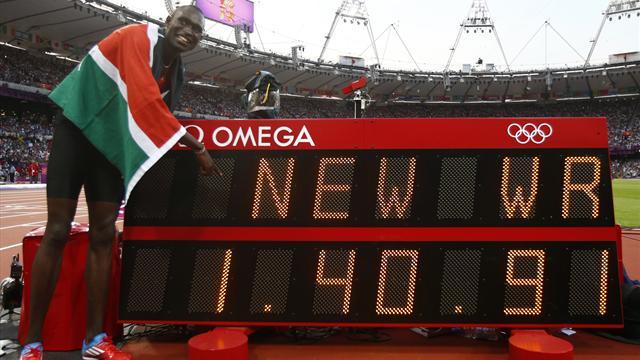 мировой рекорд на 800 метров, Девид Рудиша, олимпийский чемпион