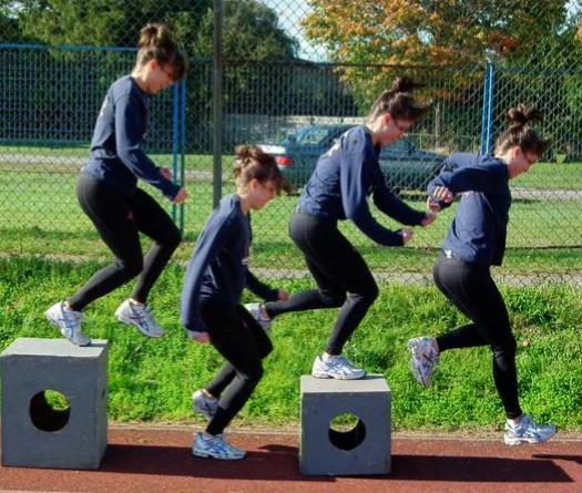 Прыжковый упражнения 1
