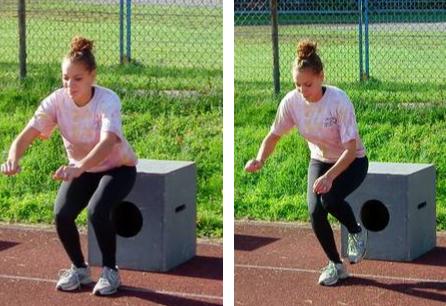 Прыжковый упражнения 2