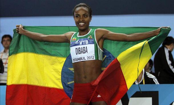 эфиопская легкоатлетка