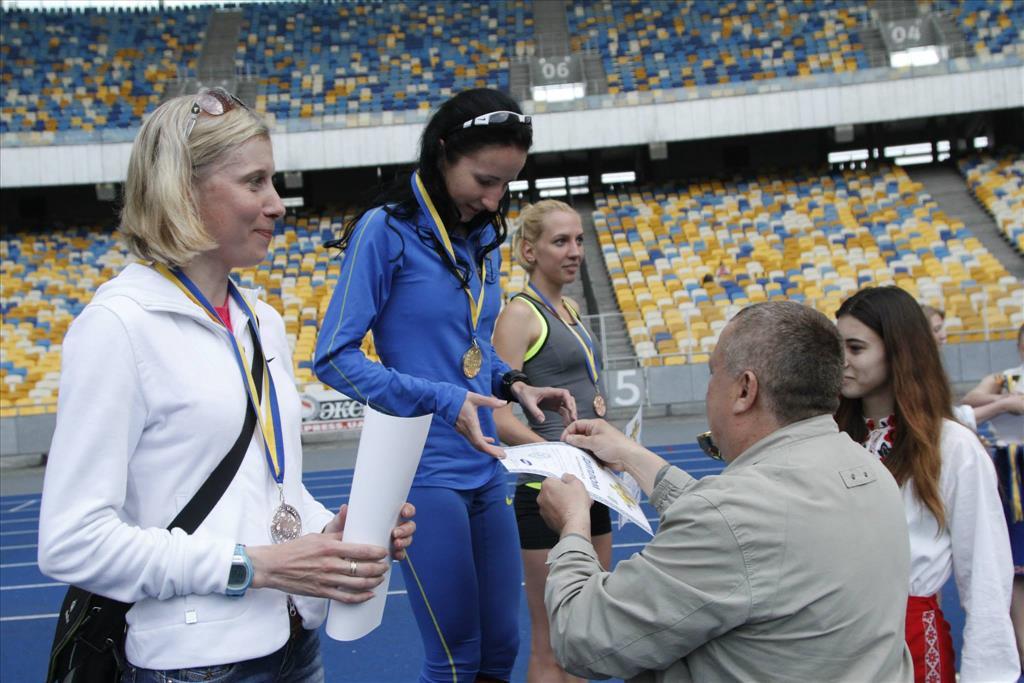 Ольга Скрипак чемпионка Украины