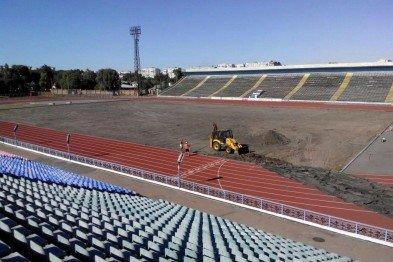 Реконструкция стадиона в Чернигове